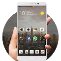 White Huawei Mate9 icon