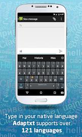 Adaptxt Free Keyboard Screenshot 5
