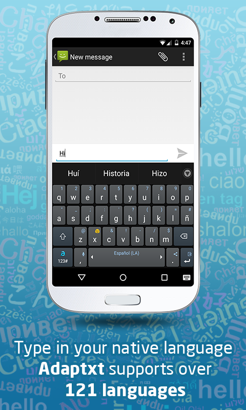 Adaptxt – Free Keyboard- screenshot