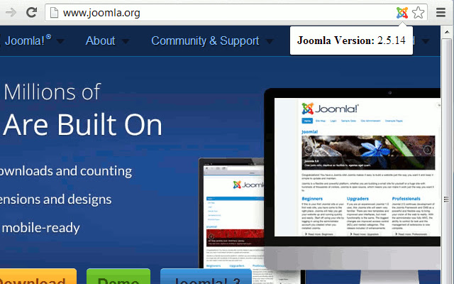 Version Check for Joomla