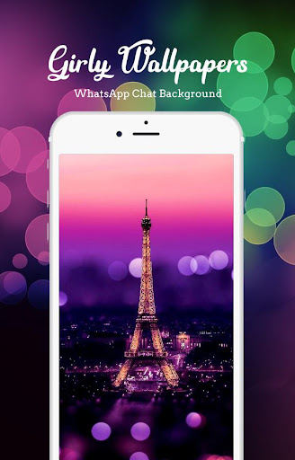 Girly Wallpapers For WhatsApp Chat Background Screenshot 1
