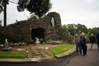 Photo: The grotto that Mom's Dad built