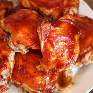 Tangy Memphis BBQ Sauce and Oven Baked BBQ Chicken.