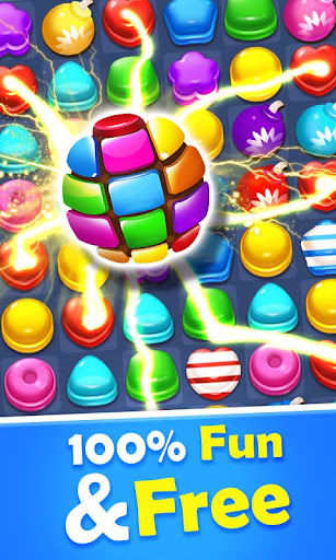 Sweet Candy Mania - Free Match 3 Puzzle Game 1.4.1 screenshots 1