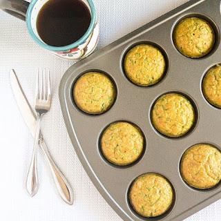 Spinach Almond Amaranth Breakfast Muffins