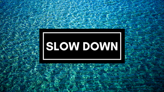 Slow Down in September-image