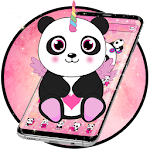 Panda Unicorn Galaxy Anime Icon