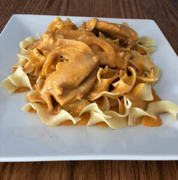 Upscaled Hungarian Chicken Paprikash Recipe