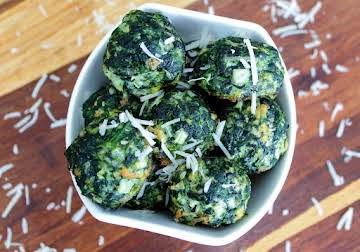 Eat Your Heart Out Popeye Spinach Balls