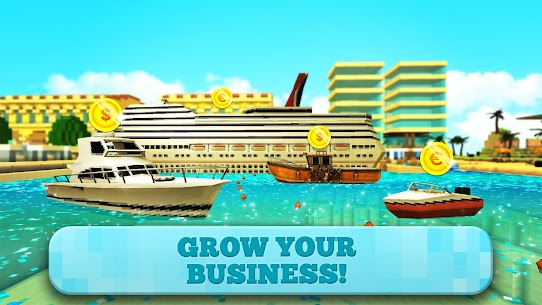 Port Craft: Paradise Ship Boys Craft Games – APK Mod Updated 2