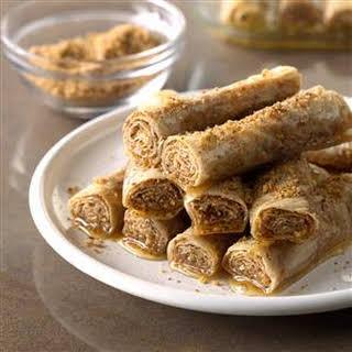 Honey Cinnamon Rollups.