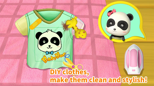 Cleaning Fun - Baby Panda  screenshots 4