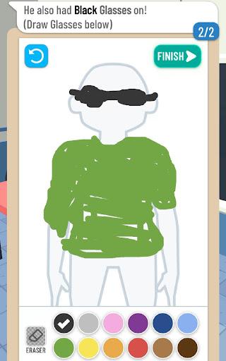 Line Up: Draw the Criminal apktram screenshots 12