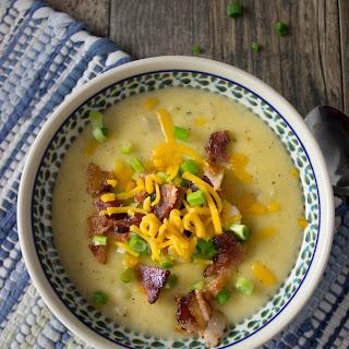 Loaded Ranch Potato Soup