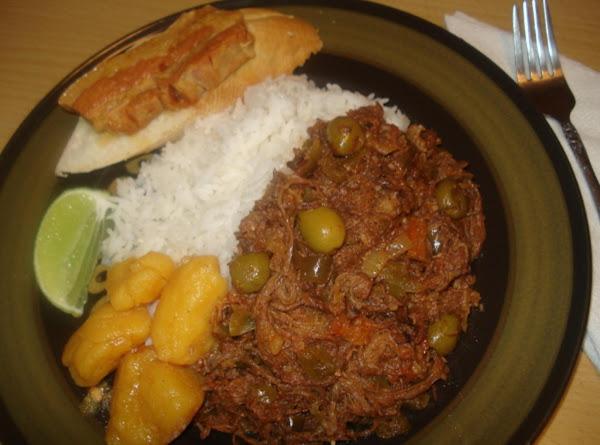 Authentic Cuban Shredded Beef, Ropa Vieja Cubana Recipe