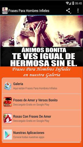 скачать Frases Para Hombres Infieles Google Play Apps
