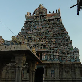 Srirangam Temple  by Leelamohan Anantharaju - Buildings & Architecture Places of Worship ( sculptures, temple architecture, hindu temples,  )