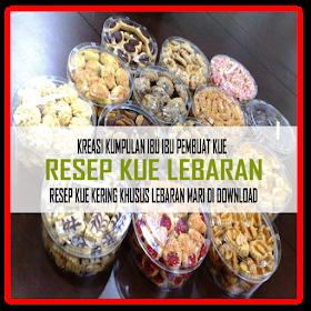 100+ Resep Kue Kering Lebaran