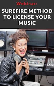 Surefire method to license your music webinar