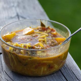 Moroccan Beef Beer Soup (Chorba)