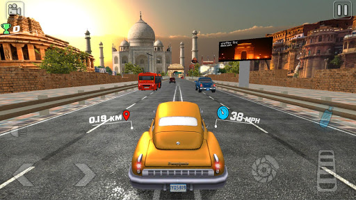 VR Car Race -Real Classic Auto Traffic Race apkpoly screenshots 11
