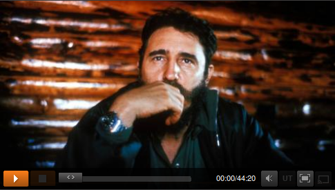 Fidel Castro in ZDF-Video.