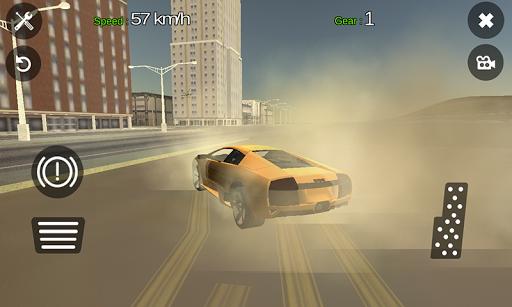 LAMBO Car Driving Simulator 3D