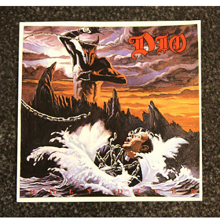 Dio - Holy Diver - Klistermärke