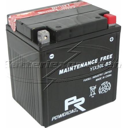 YTX30-L, MC batteri AGM 28Ah