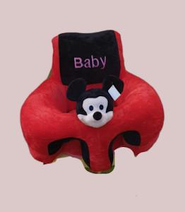Fotoliu plus bebe cu sezut pernuta si spatar, 55 x 45 cm