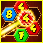 Merge It! Hexagon Number Puzzle Mod