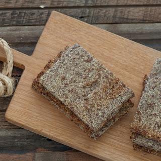 Cauliflower & Linseed (Flax) Bread.