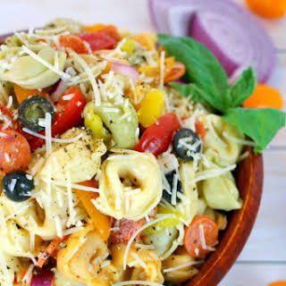 Italian Tortellini Salad.
