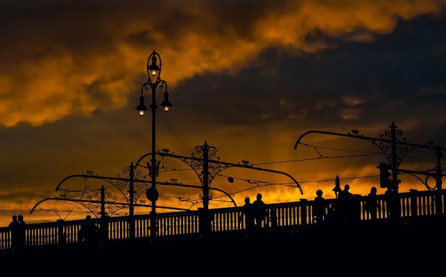 E quando ti corteggian liete le nubi estive, vieni, o Sera! di tonino_de_rubeis