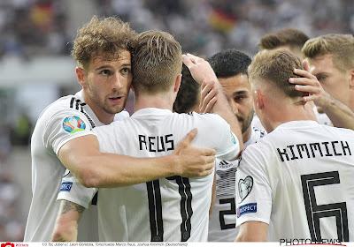 Qualifications Euro 2020 : l'Allemagne cartonne, la Turquie revient les pieds sur terre
