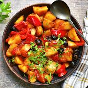 Seasoned Potato Salad Bowl
