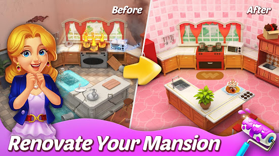 Matchington Mansion 1.76.0 APK + Mod (Free purchase / Free shopping) for Android