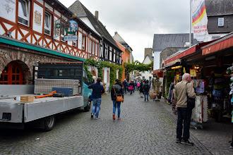 Photo: Walking through Rudesheim