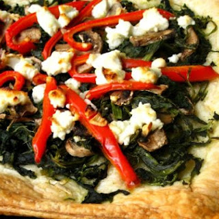 Vegetable Tart With Goat Cheese