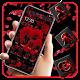 Dark Red Rose Heart Launcher Theme  APK