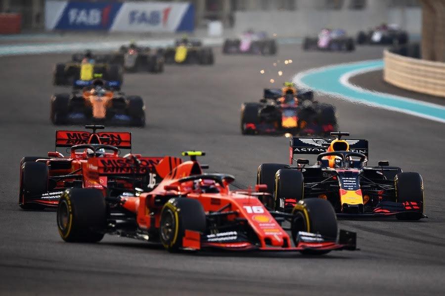 2019年F1アブダビGPレース