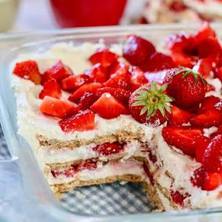 Strawberry Icebox Cake Recipe