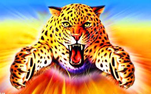 Leopardの3Dライブ壁紙