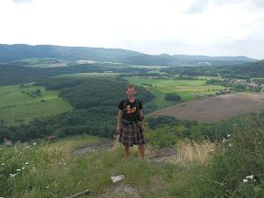 Photo: Na zřícenině hradu Kalich.