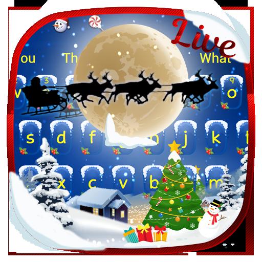 Live Night Magic Santa keyboard