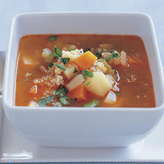Hearty Winter Vegetable and Couscous Soup