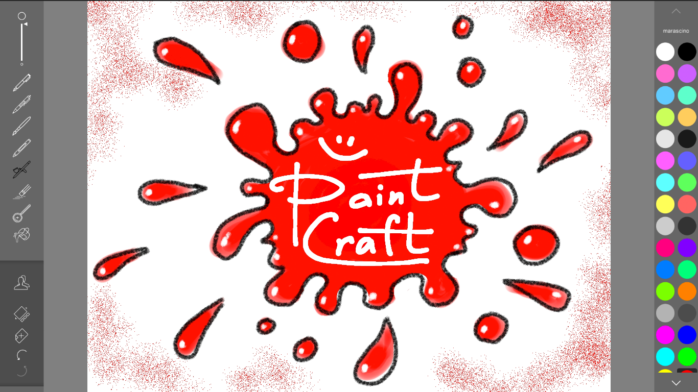 PaintCraft- screenshot