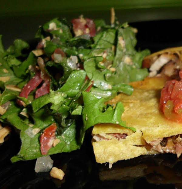 Fresh Texmex Salad And Dressing