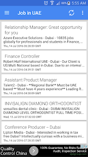 Job Vacancies In UAE - Dubai- screenshot thumbnail
