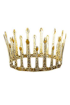 Drottningkrona, metall